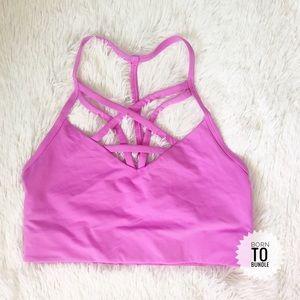 VS Pink • Strappy Sports Bra